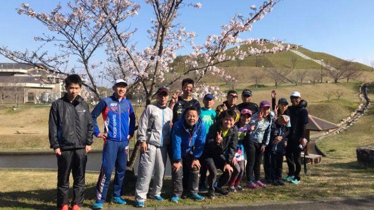 モミジヤAC練習会(お花見ラン)