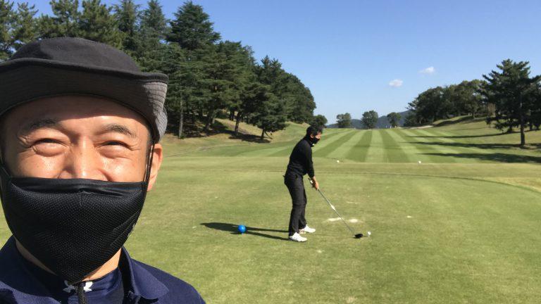 1年ぶりのゴルフ、ゴルフ場はコロナでも賑わってました!