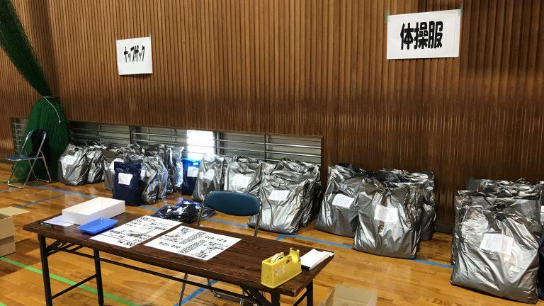 休日返上で中学校新入生販売も、湘南国際マラソン参加記念Tに癒される