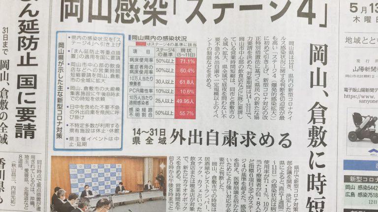岡山県まん防要請からの、当たってしまったおかやまマラソン