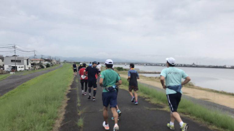 おかやまマラソンに向けてモミジヤAC練習会再開!
